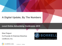 A Digital Update By the Numbers