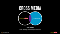 Building cross media measurement