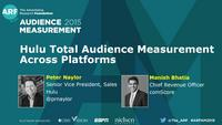 Hulu Total Audience Measurement Across Platforms