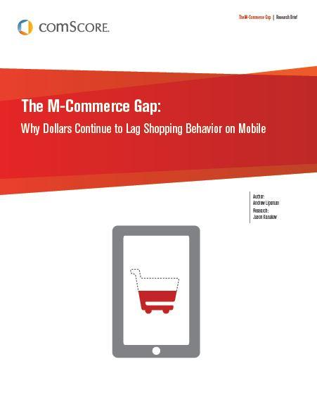 The M-Commerce Gap: Why Dollars Continue to Lag Shopping Behavior on Mobile