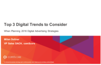 Top 3 Digital Trends to Consider When Planning 2016 Digital Advertising Strategies