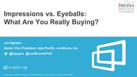 Impressions vs. Eyeballs: What Are You Really Buying?