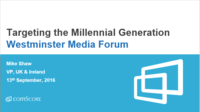 Targeting the Millennial Generation