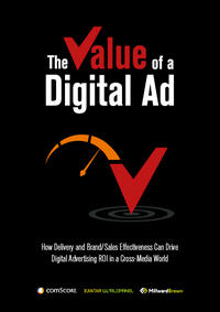 Value of a Digital Ad in Cross Media World