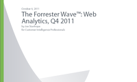 Forrester Wave Web Analytics