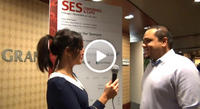 Diran Hafiz Sales Director Mobile talks to Clickz at SES Chicago