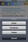 comScore iOS App screenshot