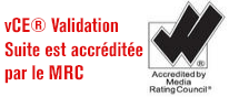 vCE MRC accreditation